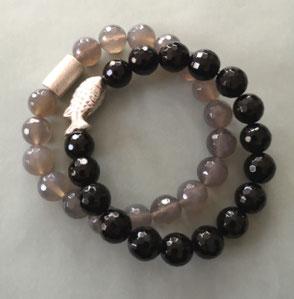 TAHITI SPRKLE - Tahitiperlen und Spinell; Perlen, Perlenschmuck, Perlenkette, Perlenarmband