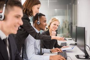 Callcenter, Kundenaquise, Telefon