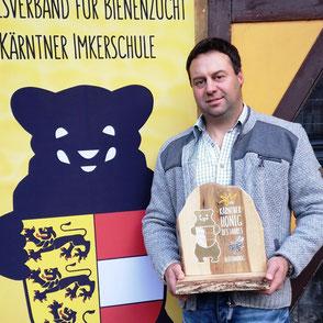 Kärntner Bär in Gold: Gernot Ortner (BZV Dellach im Drautal)