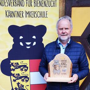 Kärntner Bär in Silber: Horst Plössnig (BZV Mörtschach)