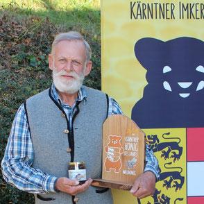 Kärntner Bär in Bronze: Ing. Peter Sampl-Petschar (BZV Umberg)