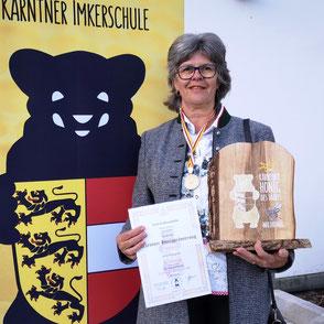 Kärntner Bär in Gold: Astrid Kassmannhuber (BZV Ferndorf)