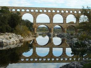 Autour du Pont du Gard à partir de Saintt Bonnet : 13/11/2016