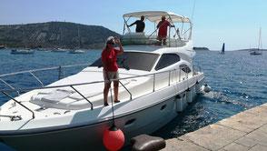 Motorboot Fahrpraxis auffrischen