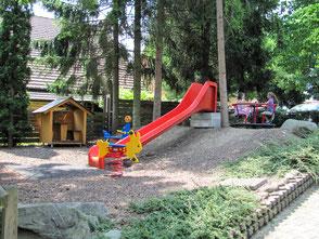 kinderfreundlicher Spielplatz