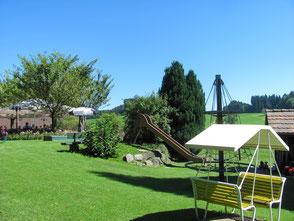 Spielplatz in der Region Appenzell