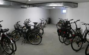 Fahrradkeller Strandpalais Duhnen