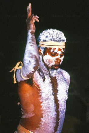 Ritualtanz der Aborigines in Australien