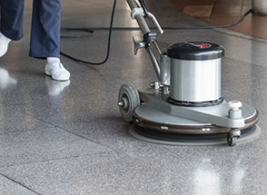 Call Southern Janicorp for commercial floor cleaning - floor stripping, floor waxing, floor buffing