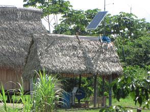 Solarantrieb für die Trinkwasserpumpe