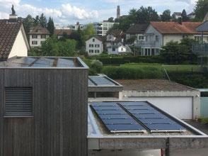 Stromproduktion mit Solartechnik