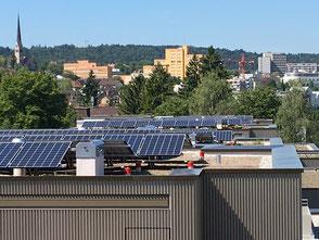 Photovoltaikanlage und Flachdachabdichtung