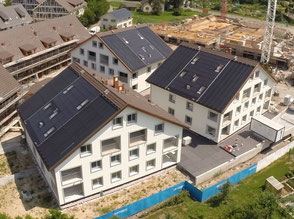 Pilotprojekt Solarwärme mit Erdsondenfeldern