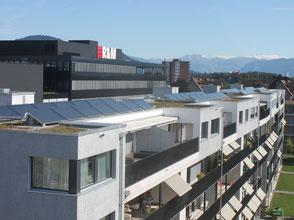 Solarthermie und Heizungsanlage für Warmwasser
