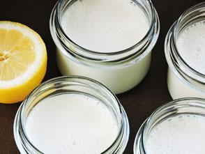 Kokosjoghurt, Kokoswasser, Kokosmus, Kokosöl, Vanille, Zitrone, Rejuvelac, vegan