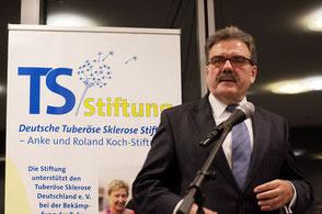 Schlusswort des Vorsitzenden des Stiftungsbeirates, Dr. Hugo Müller-Vogg. Foto: Galina Görl