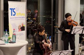 Musikalische Begleitung durch junge Solisten der Kronberg Academy. Foto: Galina Görl