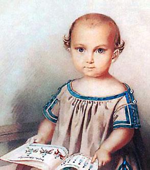 König Ludwig II. als Kind