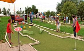 Abenteuer-Golf-Anlage Seepark nähe Schwäblishausen