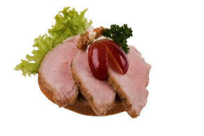 Cocktailhäppchen mit Schweinefilet Party-Küche Heuer