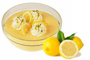 Zitronencreme mit echter Zitrone Party-Küche Heuer
