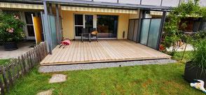 Terrassenboden Accoya - Terrassenboden Bern und Thun Zürcher Holzbau Bern AG
