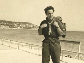 Mein Vater 1952 in Spanien