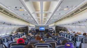 Indien Reisetipps gesund und fit im flugzeug