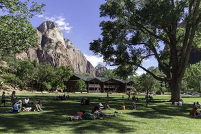 Zion National Park Hotels: Zion Lodge - Inside the Park
