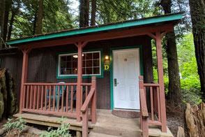 Redwood National Park Hotel Tipps und Unterkünfte Emerald Forest Cabins