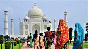 Indien Reisetipps Taj Mahal in Agra