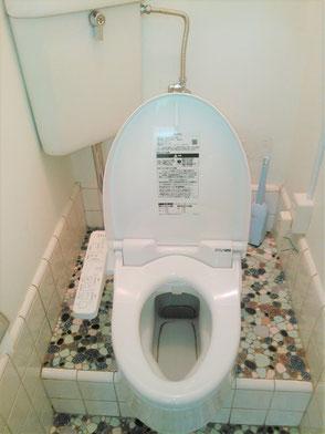 和式トイレから洋式トイレへの変更・電気コンセント増設