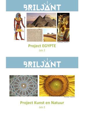 Projecten Briljant Verrijkend Projectonderwijs voor hoogbegaafde leerlingen in de plusklas.