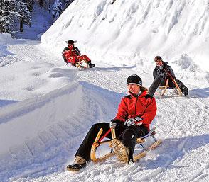 Ausflugsziel Skigebiet Hocheck am Erlebnisberg in Oberaudorf, Gasthof Falkenstein
