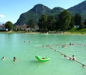 Ausflugsziel Badesee Flintsbach, Gasthof Falkenstein