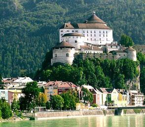 Festung Kufstein, Ausflug vom Gasthof Falkenstein Flintsbach