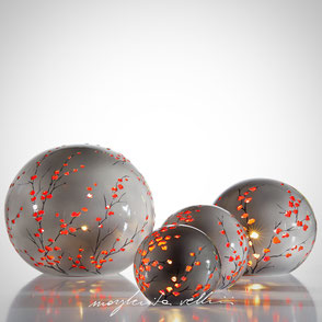 Sphere lamps RAMAGE   Margherita Vellini Ceramics Made in Italy Home Lighting Design