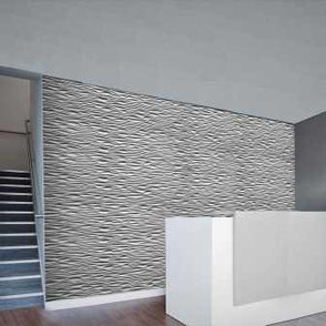 complexma 3-D reliefplatte - Dreidimensionale gefräste Reliefplatten als MDF , B1, A1 ,
