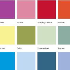 Designplatten Spectrum Farbfolien