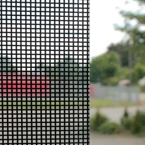 Metalle einlaminiert in Glas.