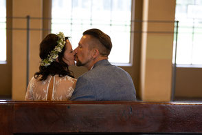 Oktober 2019, Küss die Braut