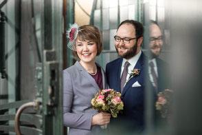 Hochzeit Dortmund, Zeche Zollern, Hochzeitsfotos, Paarfotos, Hochzeitsreportage