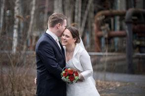 Paarshooting Hochzeitsfotos Dortmund Kokerei Hansa