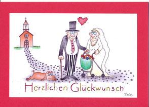Sommerkafi Sool Hochzeitskarte