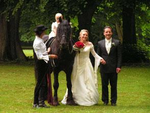 Hochzeit Schloss Schlemmin, Friese, Park