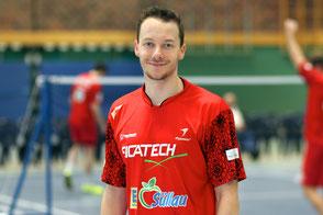 Patrick Kämnitz TSV Trittau Badminton 2. Bundesliga 2017/2018