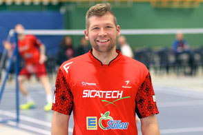 Alexander Strehse TSV Trittau Badminton 2. Bundesliga 2017/2018