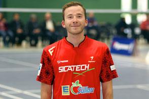 Rasmus Zander TSV Trittau Badminton 2. Bundesliga 2017/2018