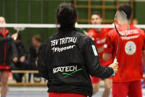 Sponsoren Flypower und Sicatech TSV Trittau Badminton 1. Bundesliga