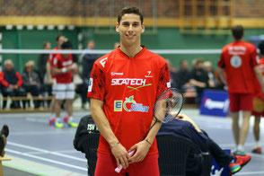 Bernardo Atilano TSV Trittau Badminton 1. Bundesliga